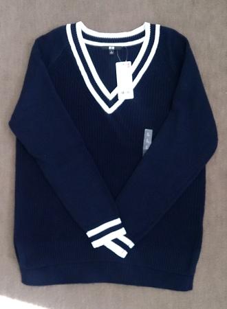 ユニクロのクリケットセーター