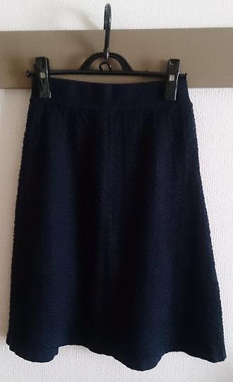 GUのジャカードニットスカート