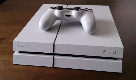 PS4グレイシャー・ホワイト