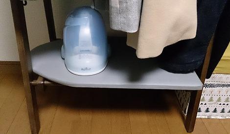 ニトリのハンガーラック下部分使用例