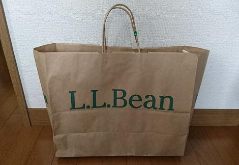 L.L.Beanのトートバッグ