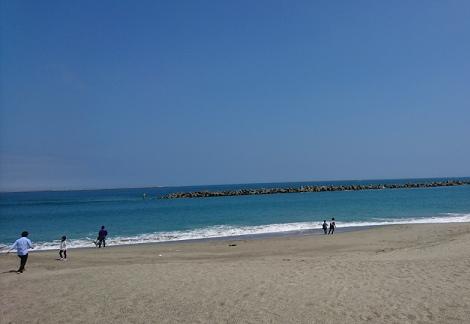 茨城県の海