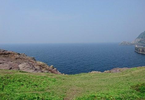 元乃隅稲成神社から眺める海