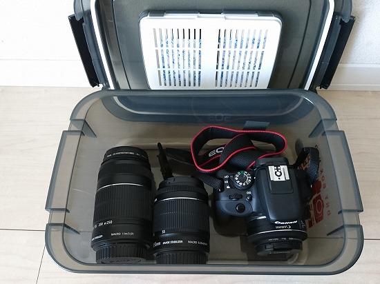 カメラの保管ケース