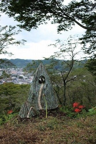 芳賀郡篠山公園の彼岸花