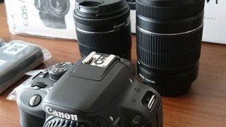 【Canon】EOS Kiss X7 ダブルズームキットを購入しました