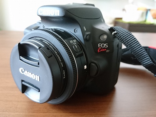 【EFS 24mm f/2.8 STM】Canon 単焦点レンズ