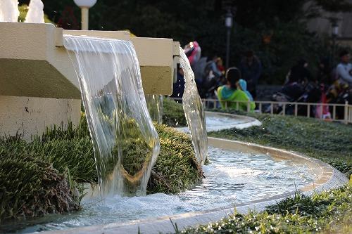 東京ディズニーランドの噴水