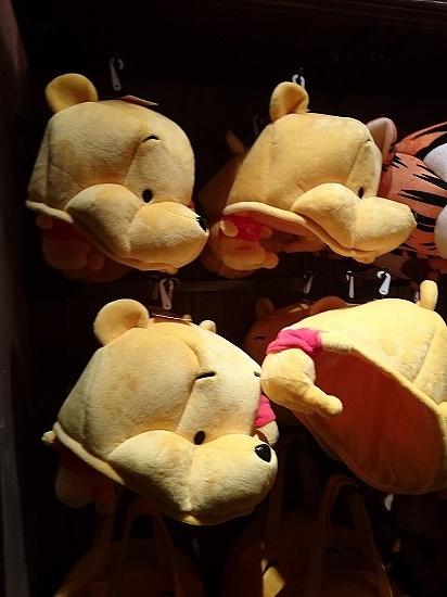 クマのプーさんの帽子