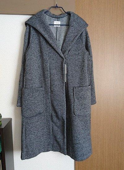 Discoatのフード付きコート
