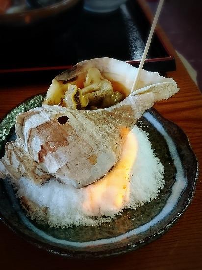 荒磯料理 くまのや のつぶ貝