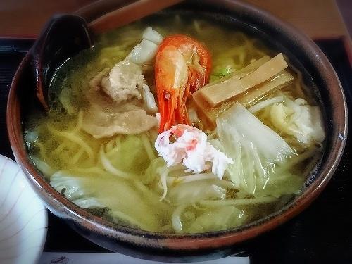 荒磯料理 くまのや 知床海鮮湯麺