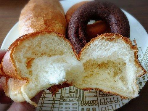 パン屋さんで買ったパン