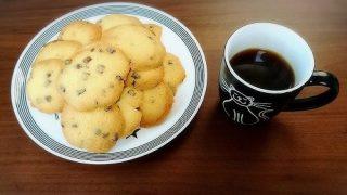 ステラおばさんのチョコチップクッキーが食べたかったけど家になかったので手作りしました