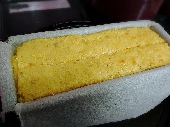 バナナのパウンドケーキ