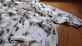 久々に服を通販!【coca】で花柄とろみドルマンシャツを購入しました※着用画像も有り