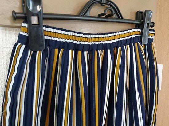 しまむらの柄物スカート