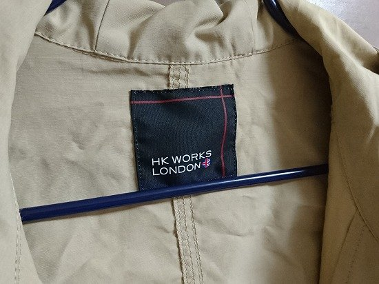 しまむら HK WORKS LONDONのフード付きマウンテンパーカー