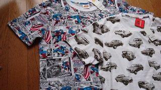 【GU】5/7までの期間限定値下げ価格でグラフィックTシャツを2点買ってきました