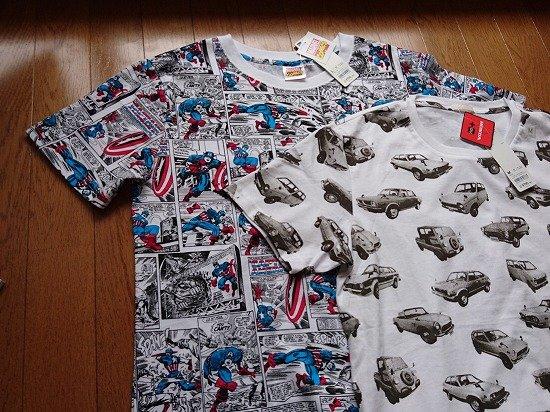 GU コラボグラフィックTシャツ