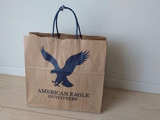アメリカンイーグル ショップ袋