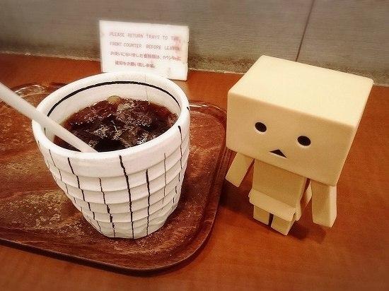 秋葉原 Cafe Moco セットのコーヒー
