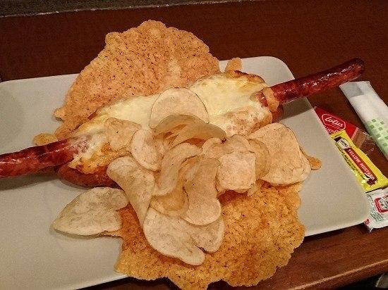 秋葉原 Cafe MOCO チーズホットドックセット