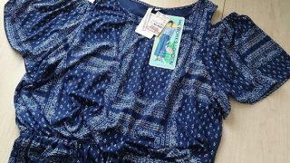 【しまむら・HK】マキシ丈オープンショルダーワンピースを買ってきました※着用画像有り