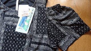 【しまむら・HK】オープンショルダーの服を2着買ってきました!またしても色違いです