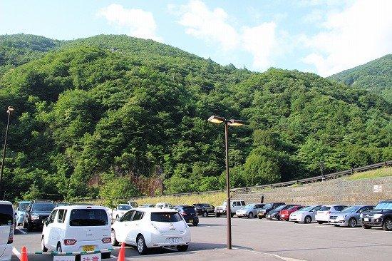 上高地 市営第三駐車場