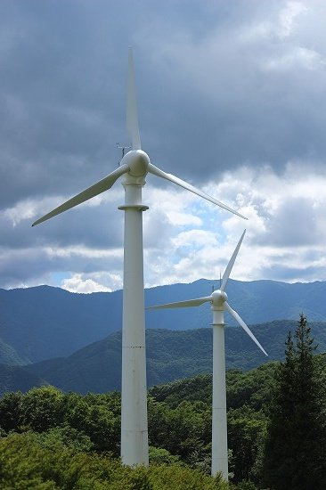 那須 コナミの風車