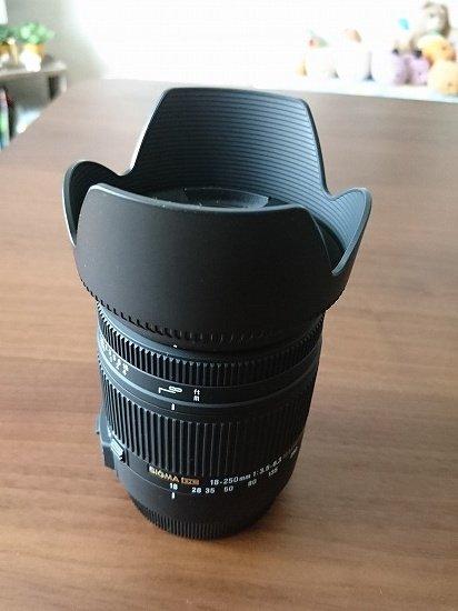 【SIGMA】18-250mm F3.5-6.3 DC MACRO OS