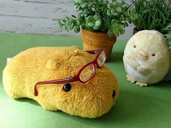 ミニチュアメガネとすみっコぐらしとカピバラさん