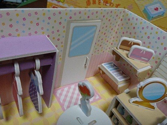 ダイソー 紙製立体パズル ドールハウス