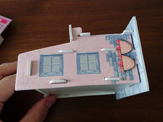 キャンドゥ・セリア ペーパークラフト ドールハウス作り
