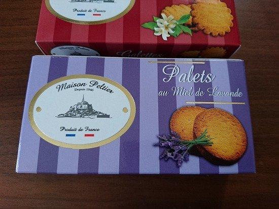 モンサンミッシェル ガレット&パレット クッキー