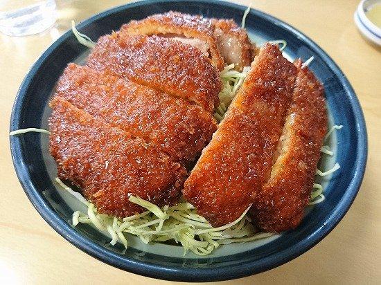 猪苗代 まるいち食堂 ソースカツ丼