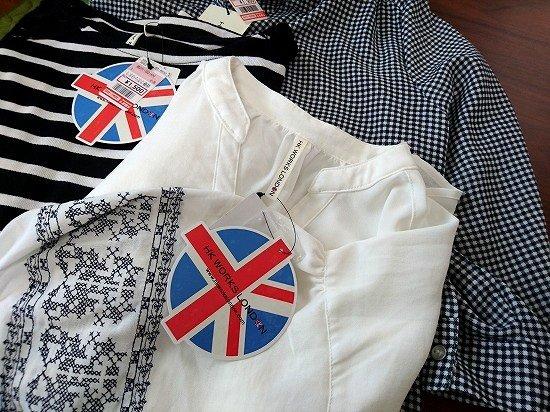 しまむら HK WORKS LONDON 春服購入