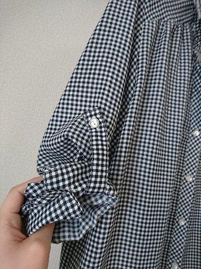 しまむら HK WORKS LONDON 春服購入 チェックシャツ