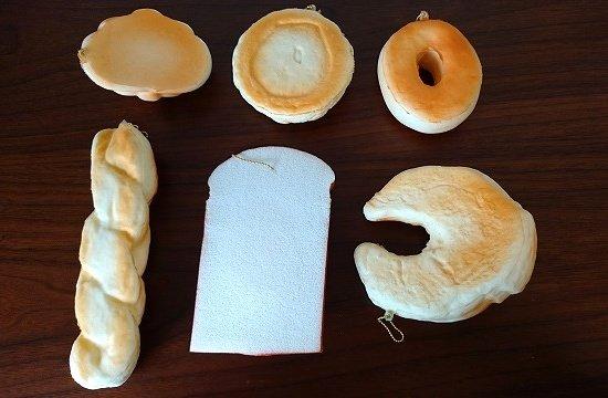 100均ダイソースクイーズ パン類