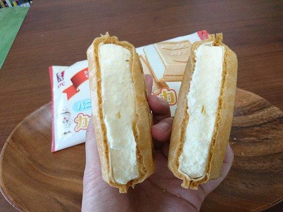 KFC ケンタッキー カーネルモナカアイス